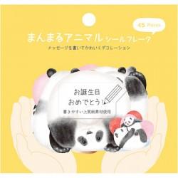 Bolsa Pegatinas ManMaru Animal Panda
