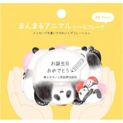 Saco Stickers ManMaru Animal Panda