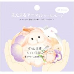 Bolsa Pegatinas ManMaru Animal Bunny