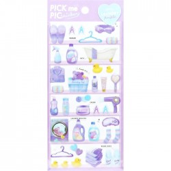 Pick Me Purple Laundry Stickers