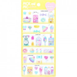 Pick Me Rainbow Sweets Stickers