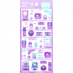 Pegatinas Pick Me Purple Game