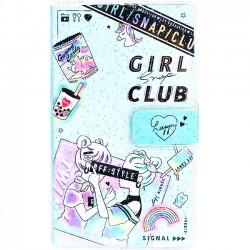 Girl Snap Club Memo Pad