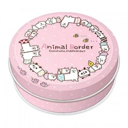 Animal Border Memo Tin