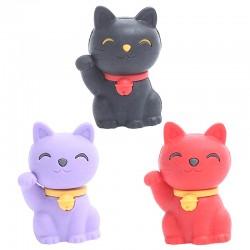 Lucky Cat Eraser