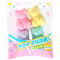Gummy Bears Erasers Set