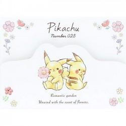 Bloco Notas Pikachu Romantic Garden