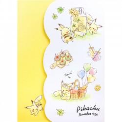 Pikachu Picnic Memo Pad