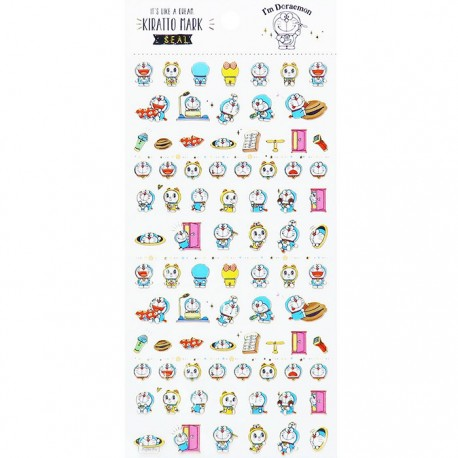 I'm Doraemon Kiratto Mark Stickers