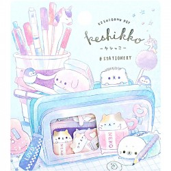 Saco Stickers Keshikko Stationery