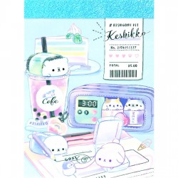 Keshikko Cafe Mini Memo Pad