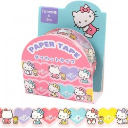 Washi Tape Die-Cut Hello Kitty Hearts