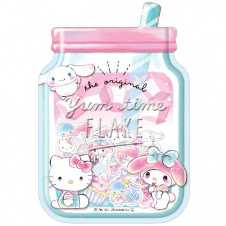 Sanrio Characters Yum Time Stickers Sack