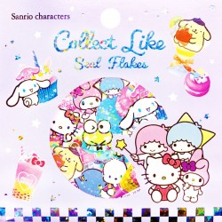 Sanrio Characters Collect Like Stickers Sack