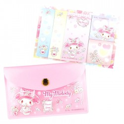 My Melody Flower Shop Pouch Sticky Notes