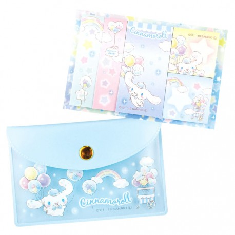 Cinnamoroll Balloon Shop Sticky Notes Pouch