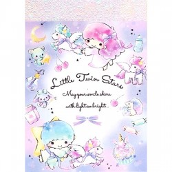 Little Twin Stars Dreamy Pegasus Mini Memo Pad