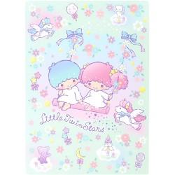 Little Twin Stars Floral Swing Writing Mat