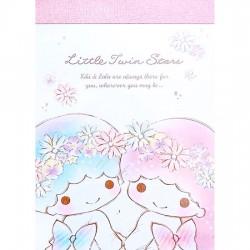 Little Twin Stars Flower Crown Mini Memo Pad