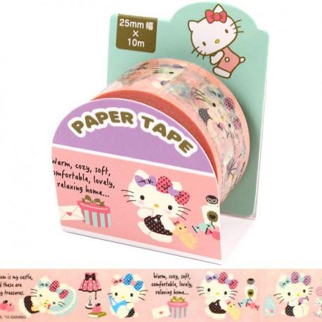 Hello Kitty Cozy Washi Tape