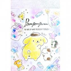 Mini Bloco Notas Pompom Purin Fun Days