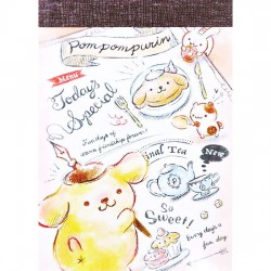 Pompom Purin Today's Special Mini Memo Pad