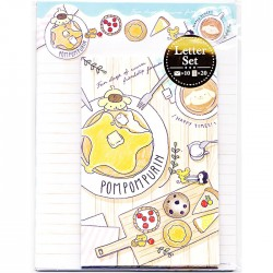 Pompom Purin Happy Times Letter Set
