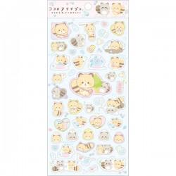 Kokoro Araiguma Fun Days Stickers