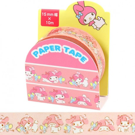 My Melody & Flat Washi Tape