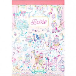 Animal Parade Love Book Memo Pad