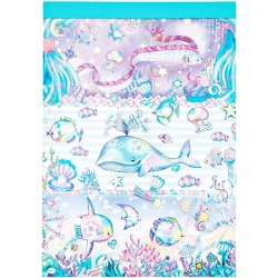 Bloco Notas Animal Parade Sea Paradise