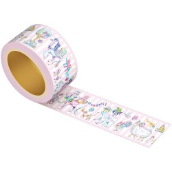Washi Tape Animal Parade Carnival
