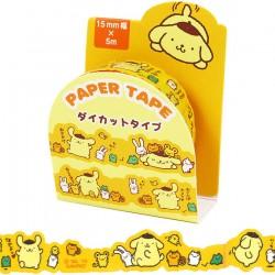 Pompom Purin Die-Cut Washi Tape