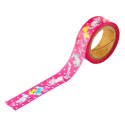 Washi Tape Animal Parade Dear Cat & Bunny