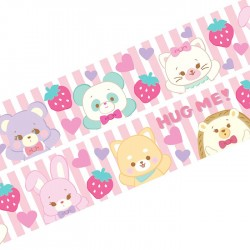 Hug Me! Animals Washi Tape