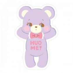Sticker Hug Me! Bear Reposicionável