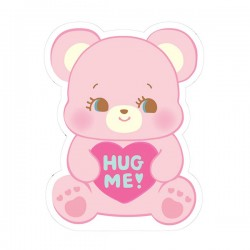 Pegatina Hug Me! Heart Bear Removible