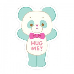Pegatina Hug Me! Panda Removible