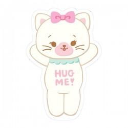 Sticker Hug Me! Kitty Reposicionável