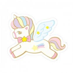Hug Me! Unicorn Removable Die-Cut Sticker