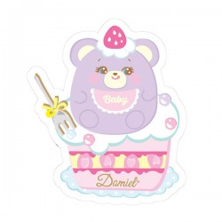 Sticker Hug Me! Baby Bear Reposicionável