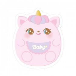 Sticker Hug Me! Baby Unicorn Reposicionável