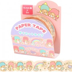 Washi Tape Die-Cut Little Twin Stars