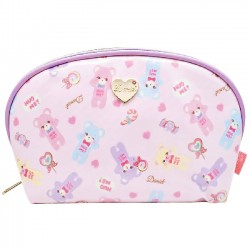 Hug Me! Bear Pastel Cosmetic Pouch