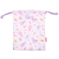 Hug Me! Bear Pastel Drawstring Bag