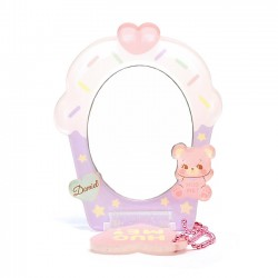 Hug Me! Bear Bubblegum Stand Mirror