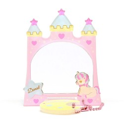 Dreamy Sky Castle Moon Stand Mirror