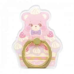 Hug Me! Bear Cake Smartphone Ring
