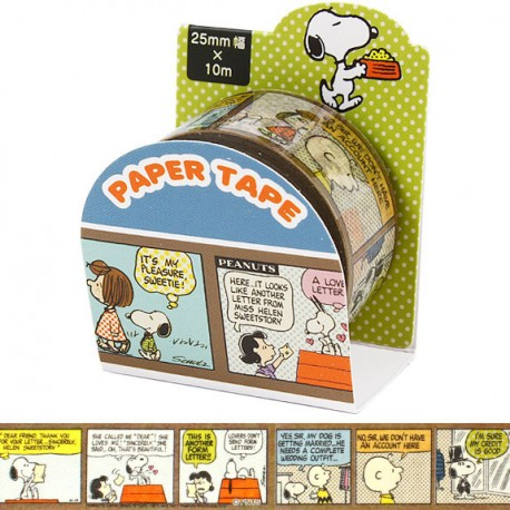 Snoopy Comics Washi Tape