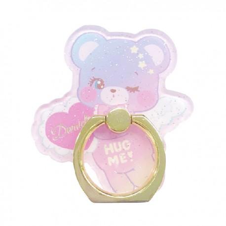 Hug Me! Bear Angel Smartphone Ring